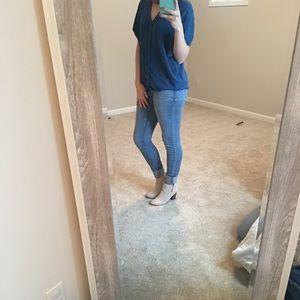Mossimo Denim Low Rise Skinny Jean Size 6L/28